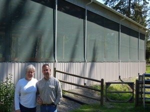arena windscreen, barn windscreen, wind screens, weather screens, arena weather screens, barn weather screens, arena, barn, arenas, barns, steel buildings, metal buildings, pole barns, equestrian arenas, dressage, covered horse arena, roping arena, horse riding stables