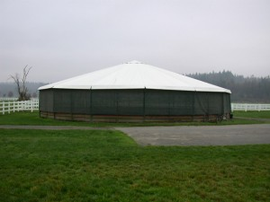 Round Pen with GaleShield